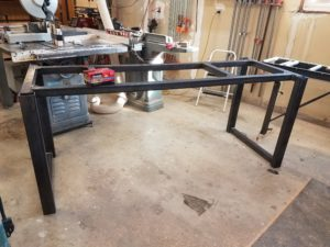 if you are interested in a custom metal table frame please contact us for a quote - Metal Table Frame
