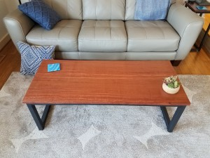 bubinga coffee table