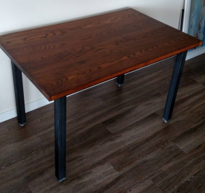 Custom Ash Kitchen table - Custom Furniture MN- Four Fields Furniture MN 55118