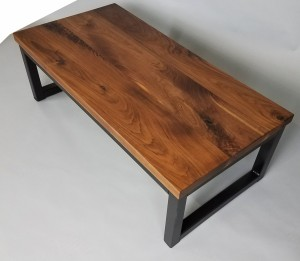 Custom Walnut Coffee Table Minneapolis