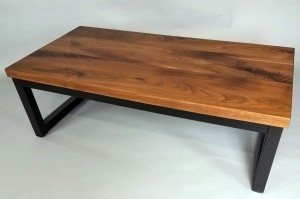 Custom Walnut Coffee Table mn