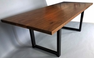 Custom Walnut Dining Table St. Paul