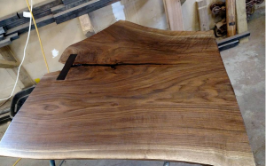 Live Edge walnut slab
