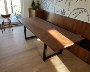 Modern Walnut Dining Table 2