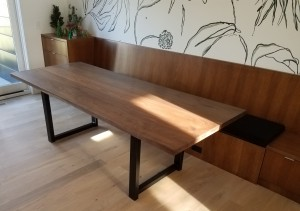 Modern Walnut Dining Table 4