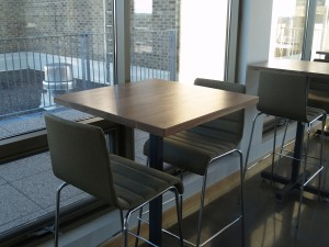 12 Walnut High Top Tables - Four Fields Furniture MN 55118