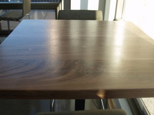 1 Walnut High Top Tables - Four Fields Furniture MN 55118