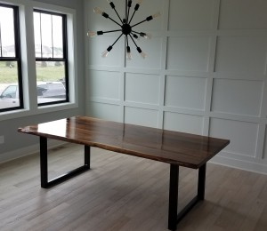 custom walnut dining table minneapolis (1)