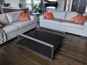 ebony stain quartersawn oak coffee table (1)