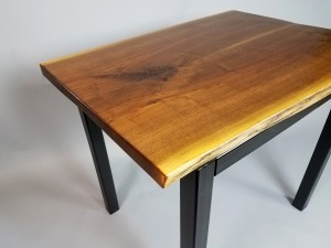 walnut live edge desk close up 2