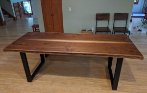 walnut live edge dining table richfield mn (1)